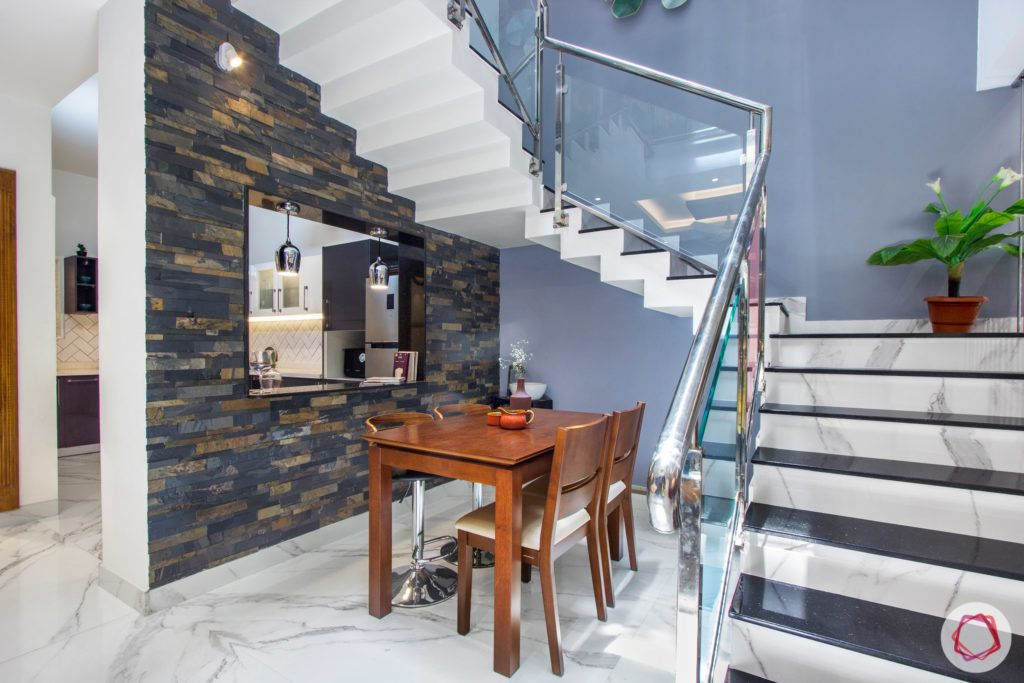 duplex house design-serving counter designs-staircase designs