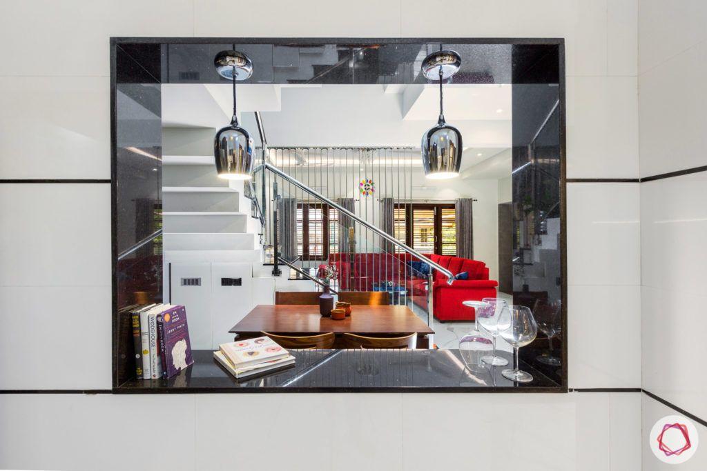 duplex house design-open kitchen designs-staircase designs