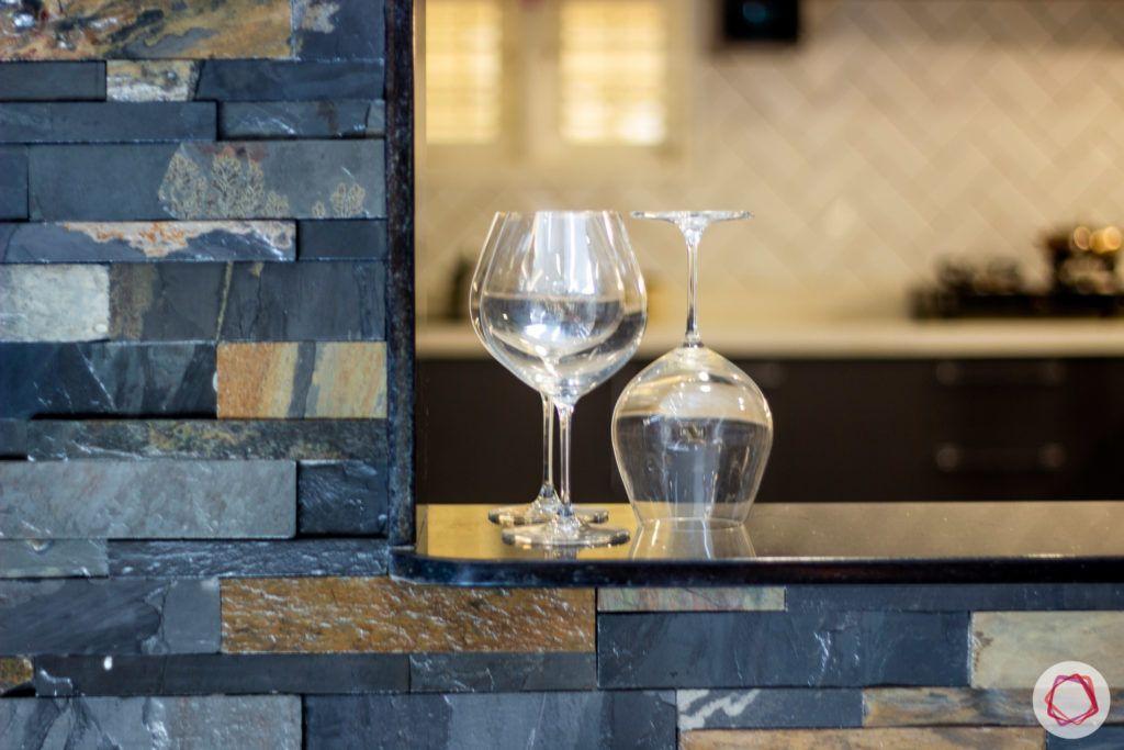 duplex house design-open kitchen designs