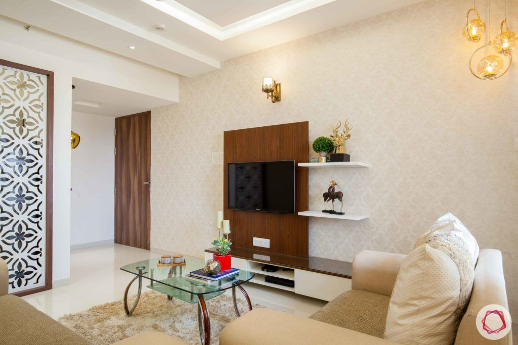 kunal-aspiree-living-room-laminate-tv-unit-wallpaper