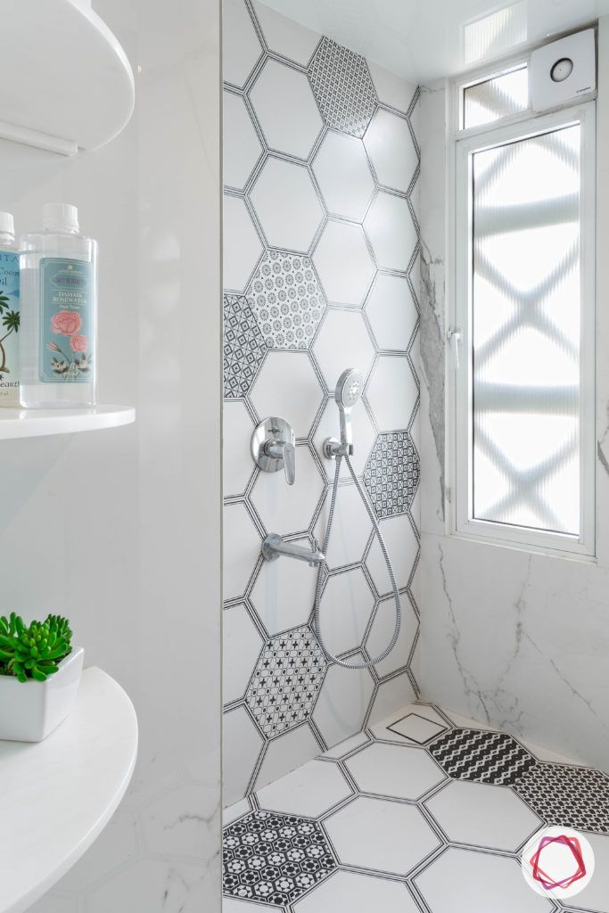 hexagonal-tile-bathroom-wall-tiles