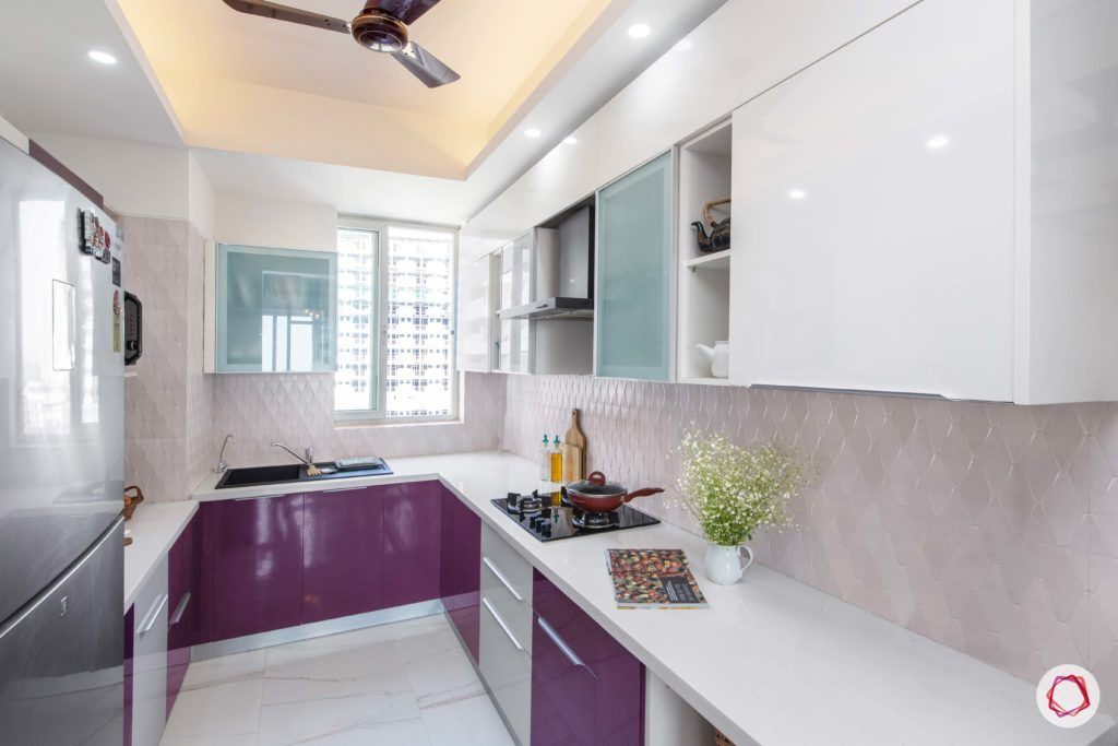 kitchen colors-purple kitchen designs-white kitchen cabinet designs