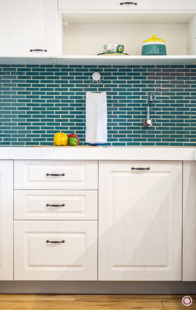 kitchen tiles-blue kitchen tile designs-white kitchen cabinet designs