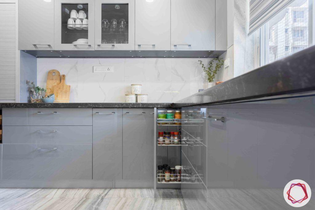 kitchen tiles-marble kitchen backsplash-grey kitchen cabinet designs