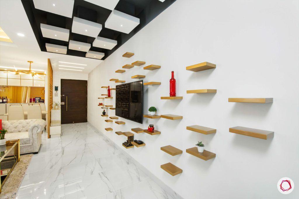 wall shelf design scattered shelves 1024x683