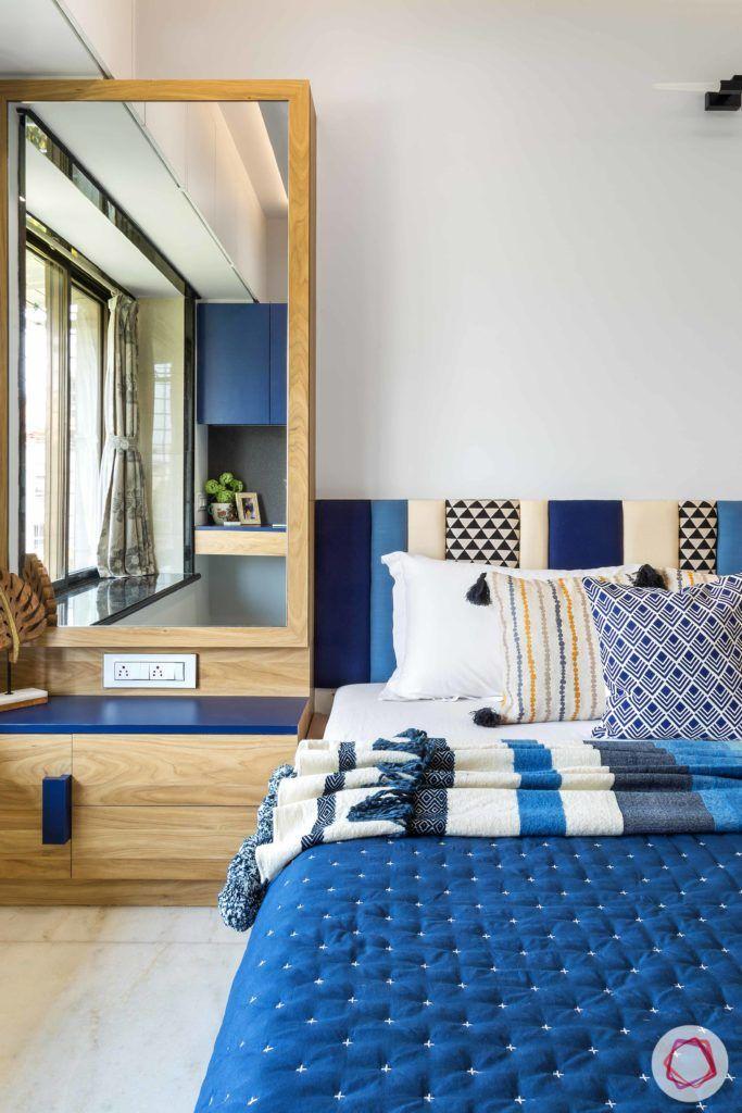 indian bedroom-storage-cum-dresser-unit-bedside dresser