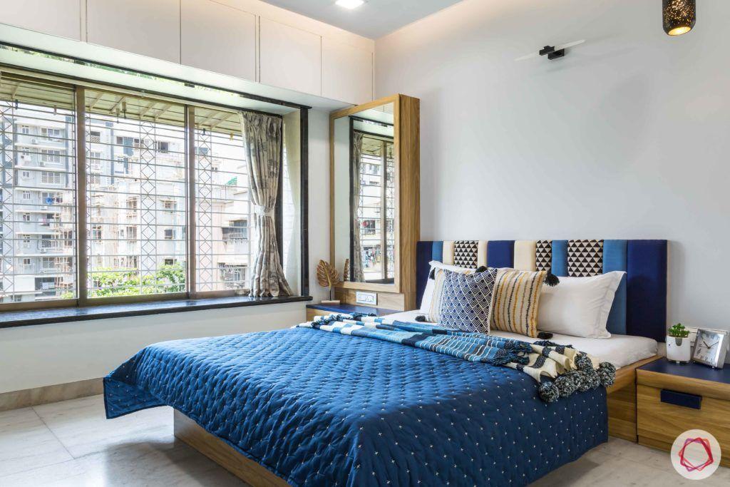 indian bedroom-window seating-refurbished bay seating