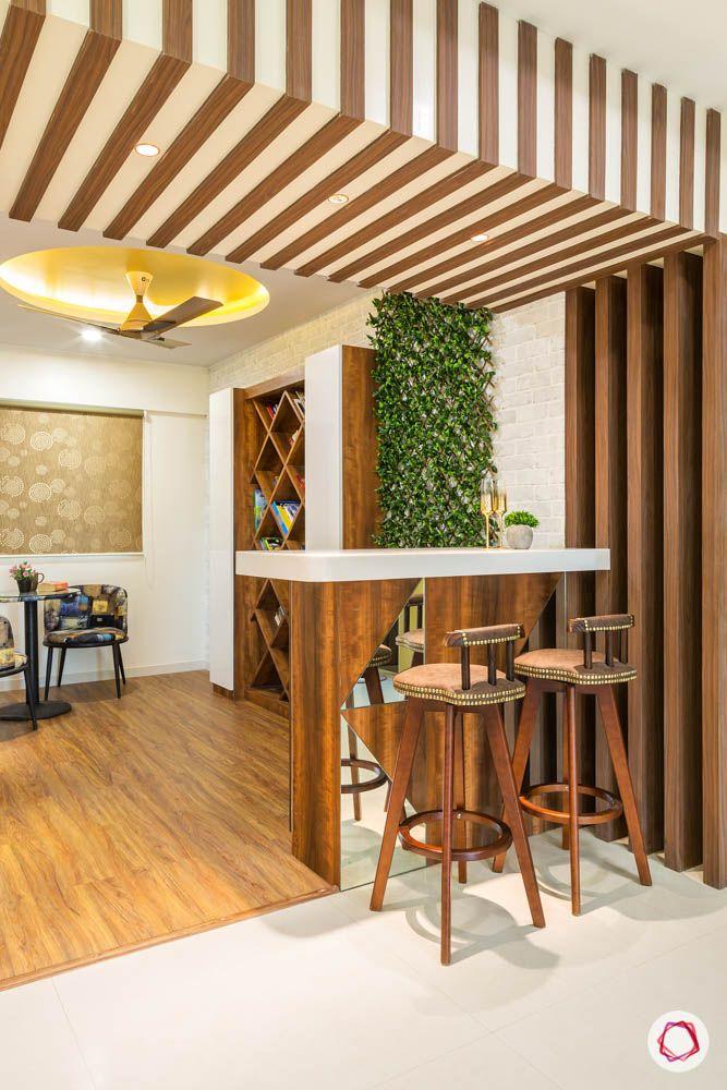 4 bhk flat in mumbai-reading room-wooden flooring