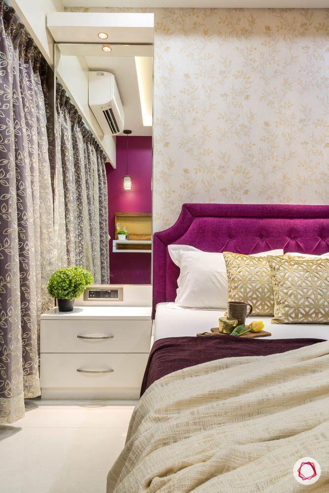 4 bhk flat in mumbai-master bedroom-dresser-cum-storage