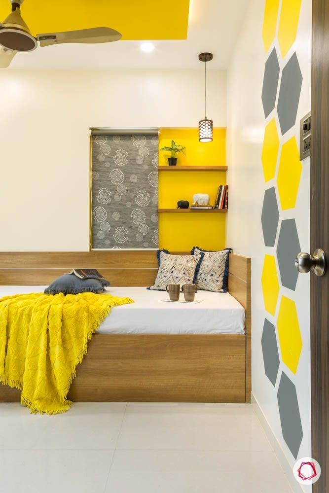 4 bhk flat in mumbai-kids bedroom-bed-cum-storage