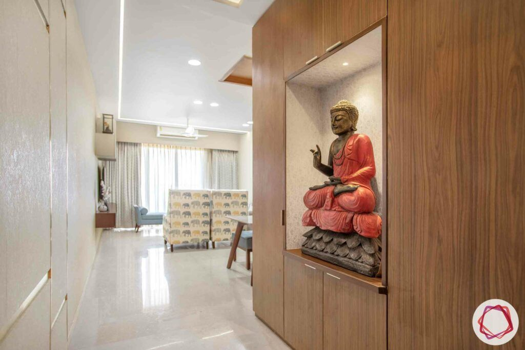 buddha decor ideas-foyer decor ideas