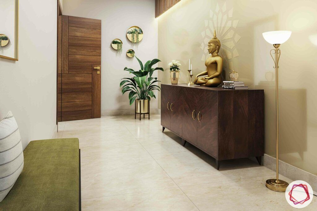buddha for decor-foyer decor ideas
