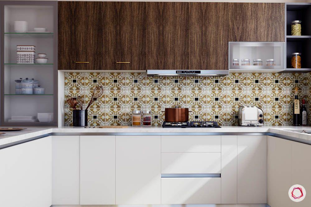 kitchen cupboard designs-closed kitchen designs