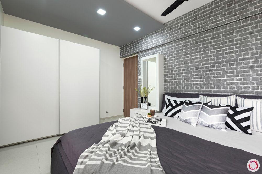 grey bedroom designs-grey headboard designs
