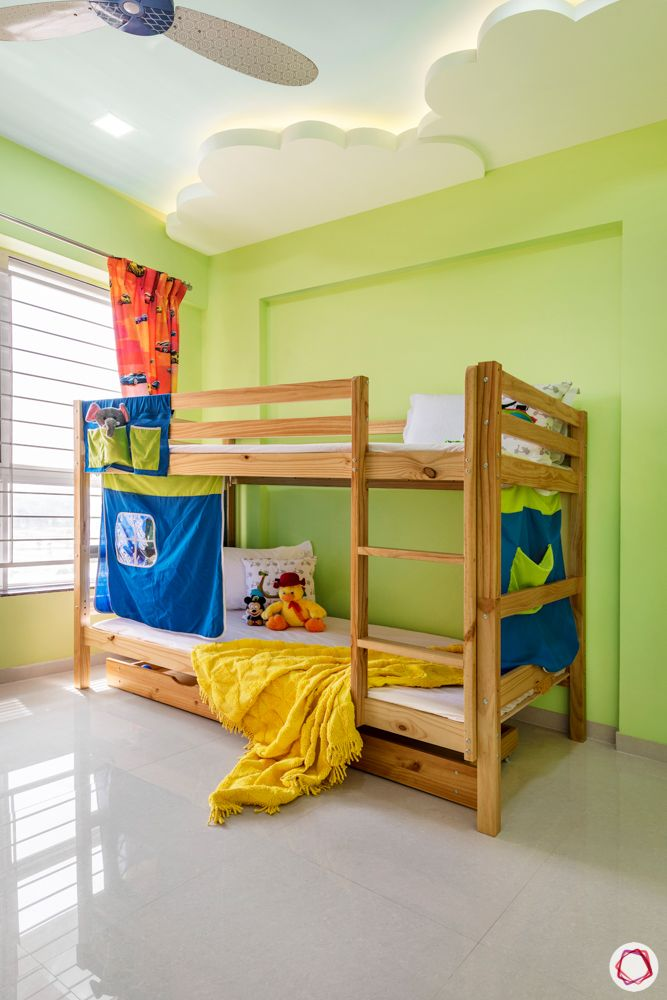 little earth pune-green bedroom designs