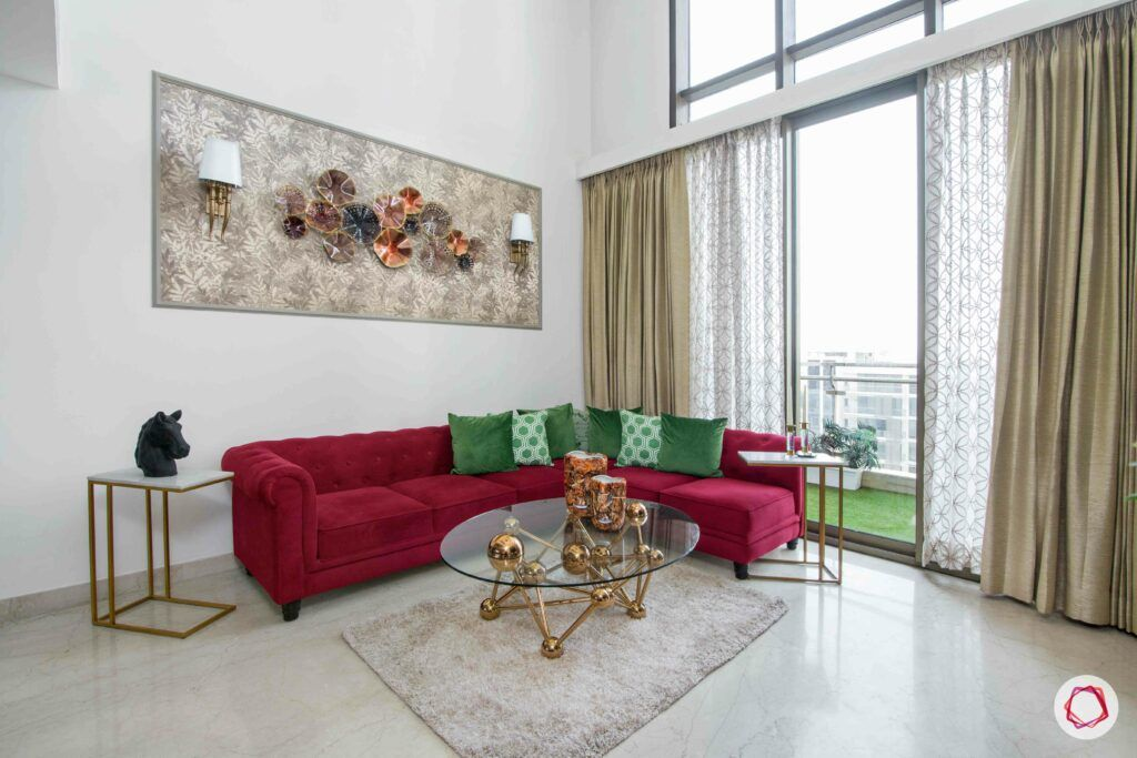 top decorating colours for 2019-wall art-coffee table
