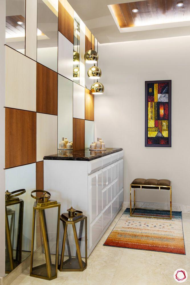 house entrance design_rug_carpet_foyer rug_foyer seat
