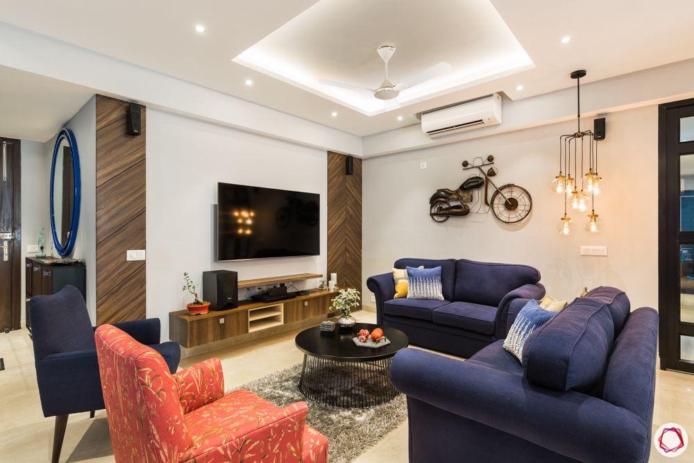 paras irene-orange accent chair-blue sofa designs