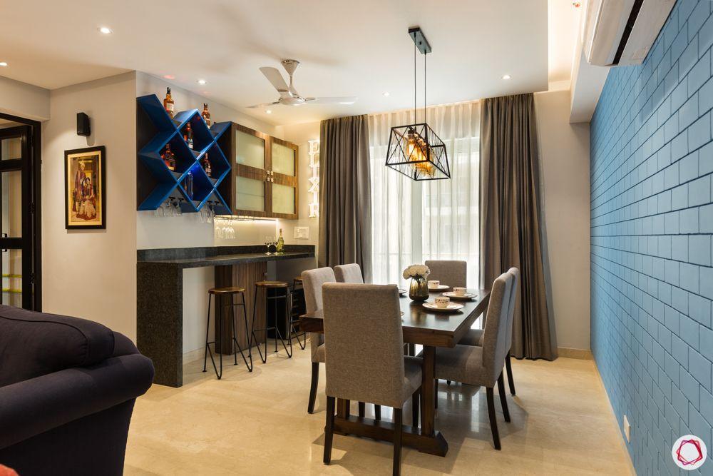 paras irene-blue shelves-bar stools