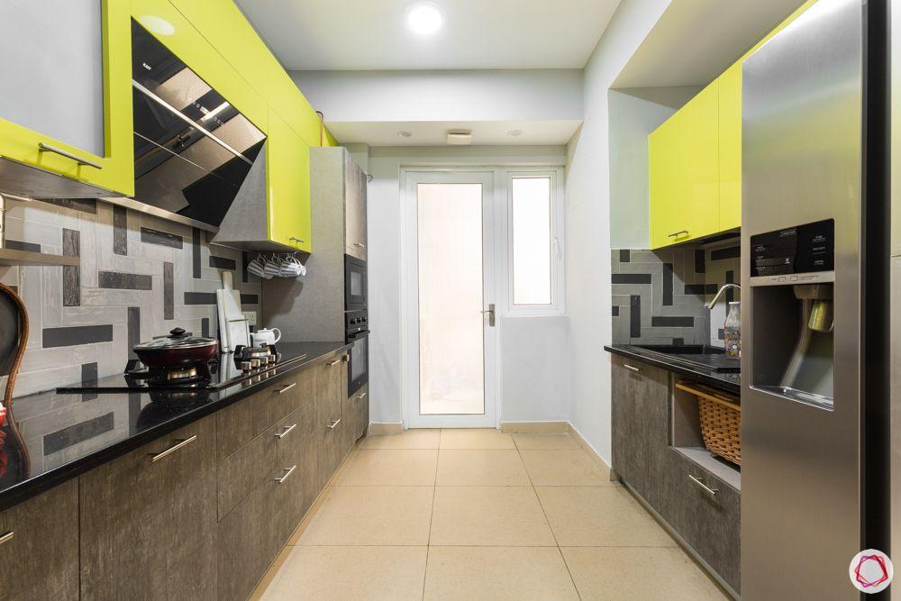 paras irene-yellow cabinets-white door