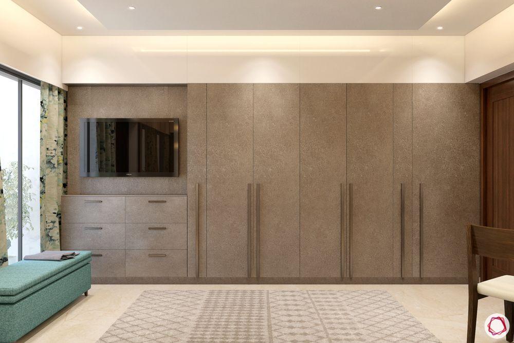 built-in-wardrobe-designs-brown-swing-door-wardrobe