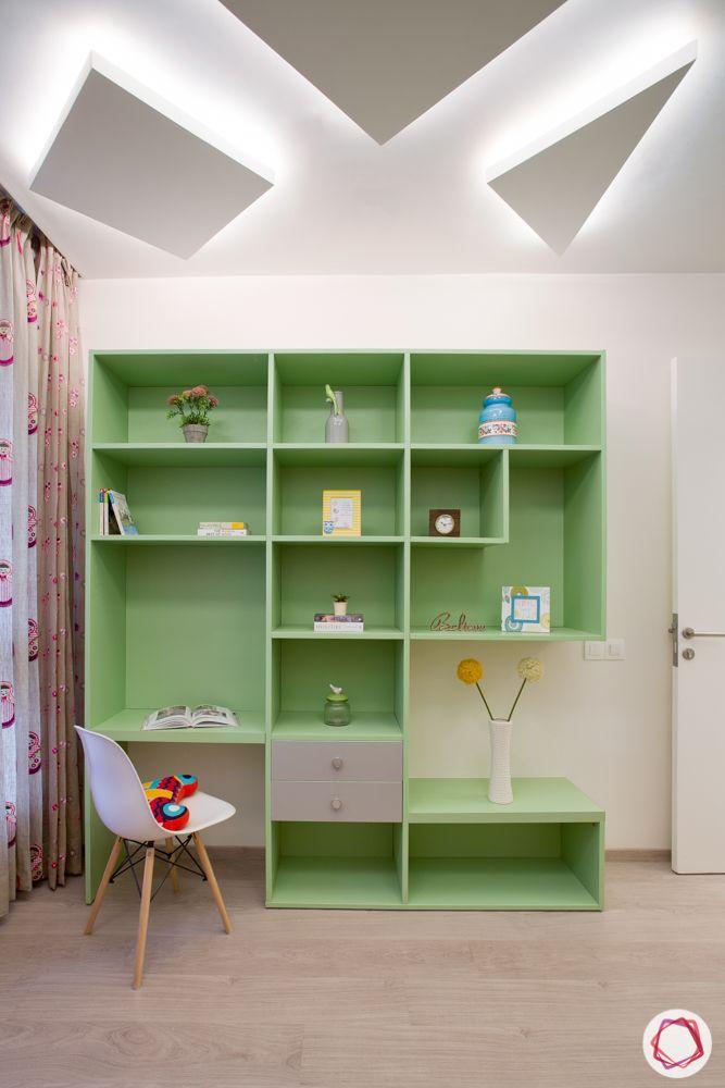 pastel colors-sea green shelf