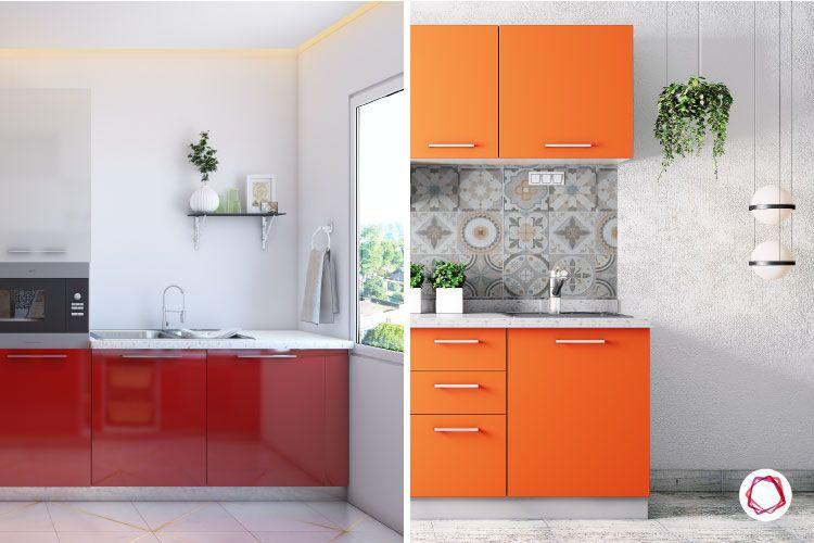 kitchen makeover-planters-decor-wall shelves