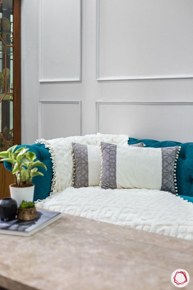 blue sofa designs-marble top table designs
