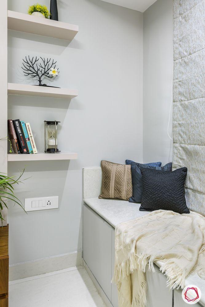 white shelf designs-bay seating ideas