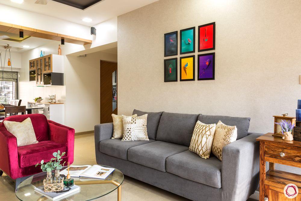 neelkanth valley-grey couch designs-red armchair designs