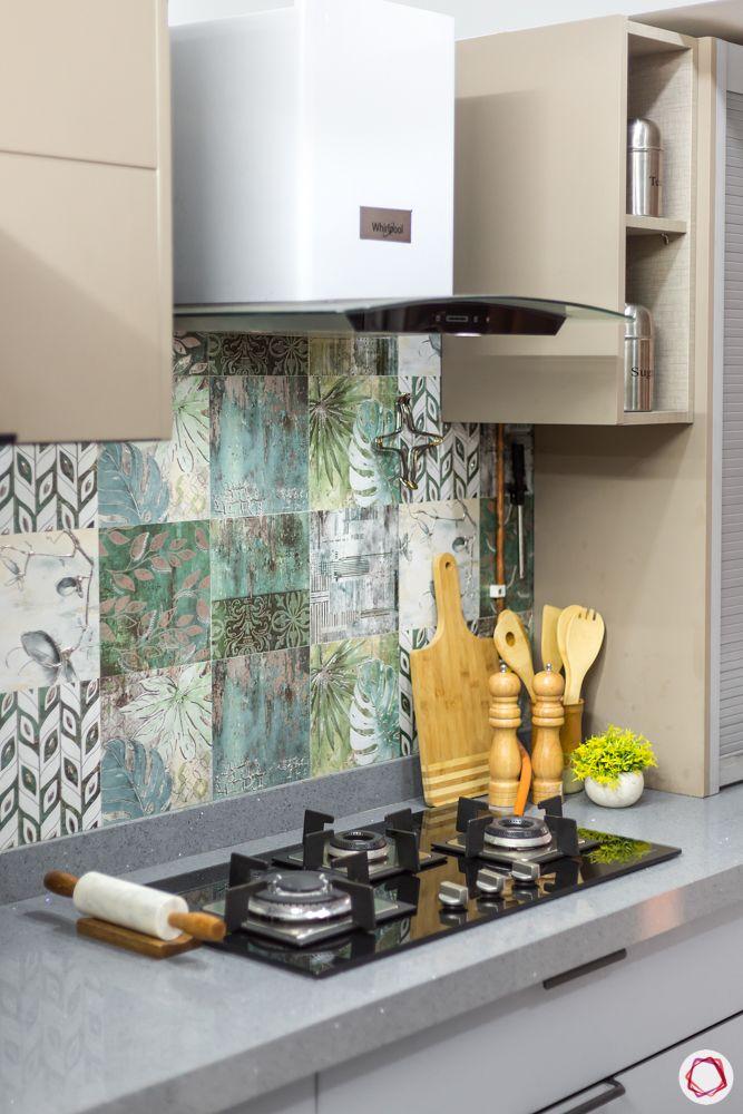 two toned kitchen designs-grey quartz countertop