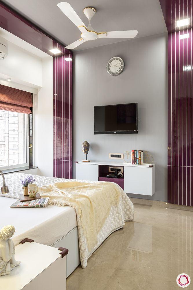 neelkanth valley-purple wall panel