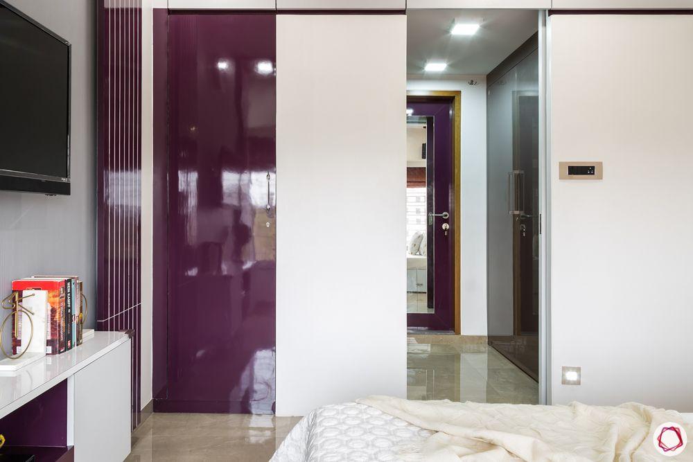 purple wardrobe designs-walk-in cabinet designs