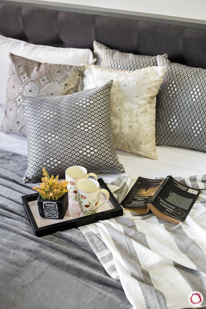grey bed designs-grey cushion designs