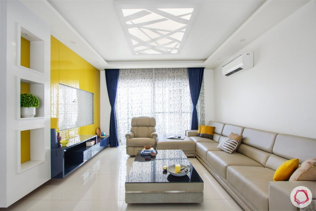 snn-raj-grandeur-living room-false ceiling