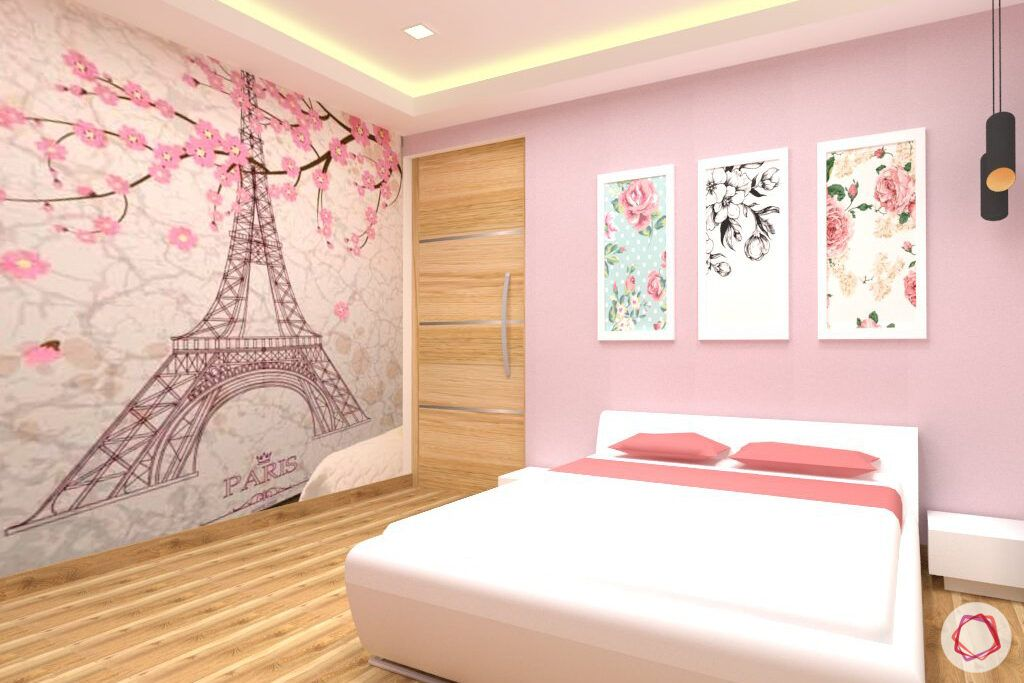 snn-raj-grandeur-girls bedroom-pink room-render