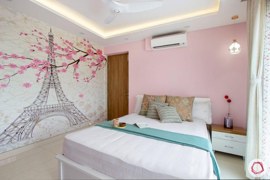 snn-raj-grandeur-girls bedroom-paris theme wallpaper