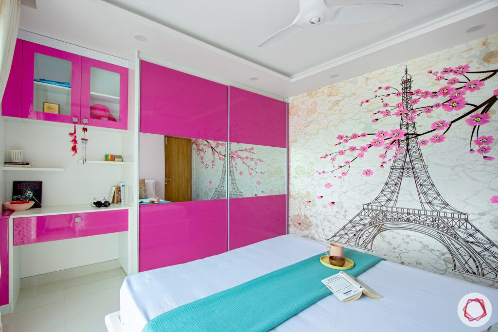 snn-raj-grandeur-girls bedroom-sliding wardrobe