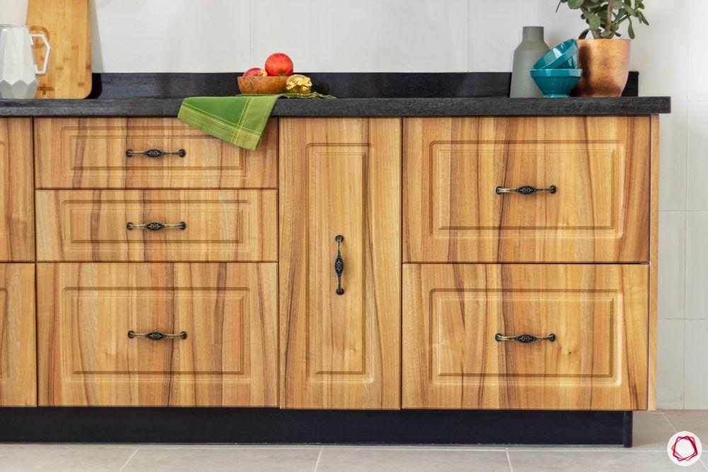 wooden kitchen designs-kitchen drawer designs