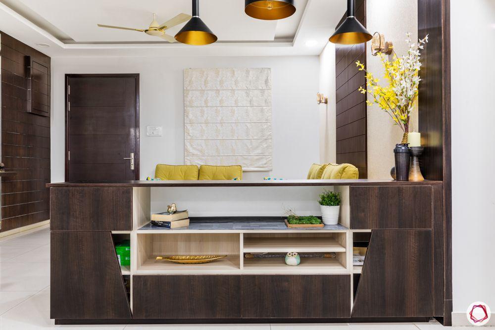 crockery cabinet designs-wooden panel designs