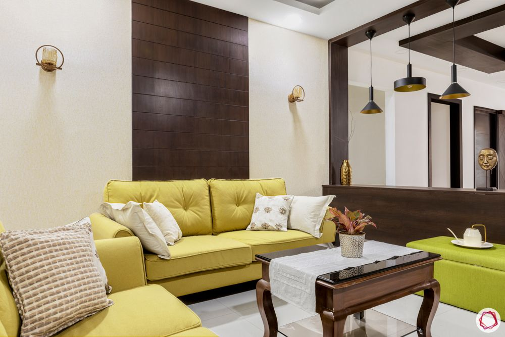 yellow sofa designs-pendant light designs
