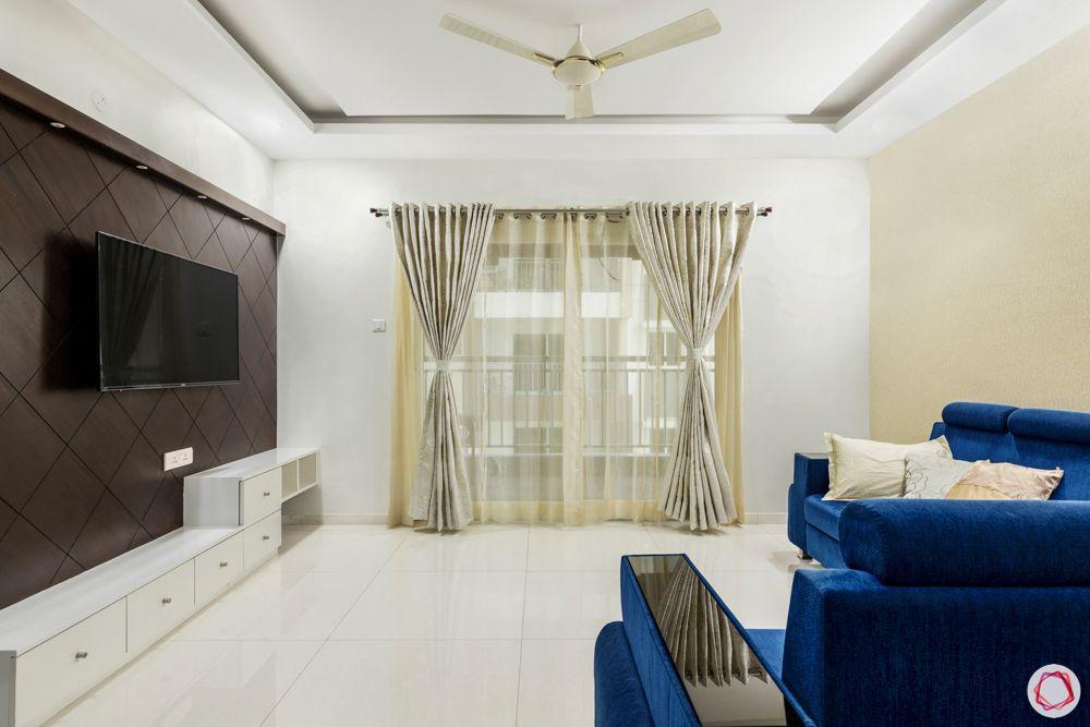 rajapushpa atria-blue sofa designs-TV unit designs