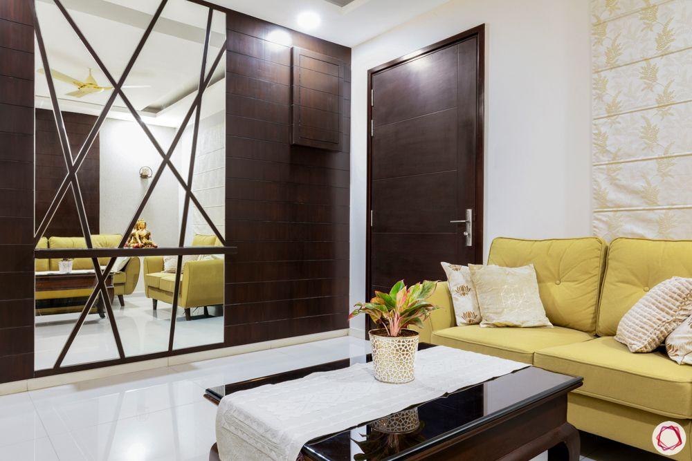 yellow sofa designs-glass panel designs