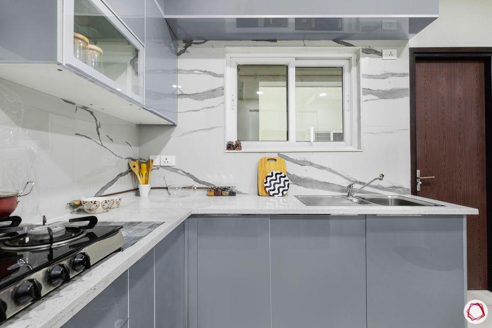 acrylic kitchen cabinets-statuario tile designs
