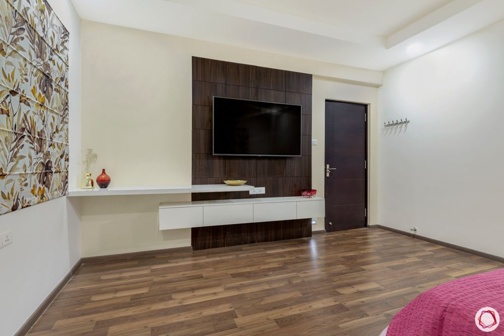 TV unit designs-wooden flooring designs