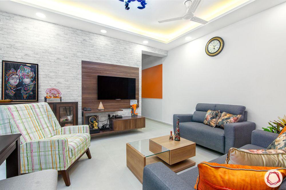 mahagun mywoods-livspace noida-living room-laminate tv unit