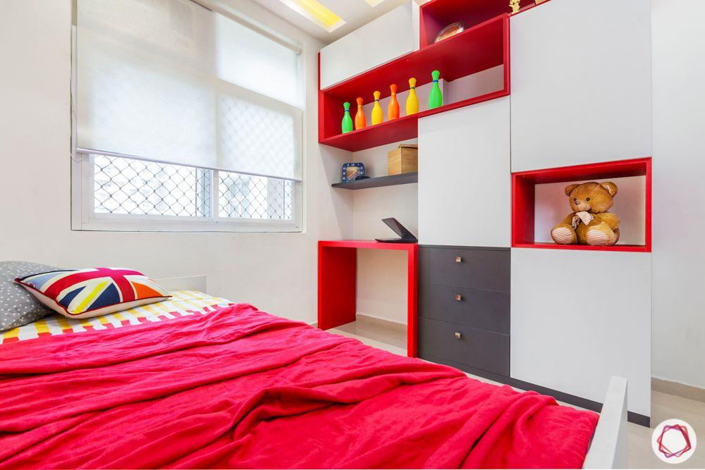 mahagun mywoods-livspace noida-kids bedroom-study table