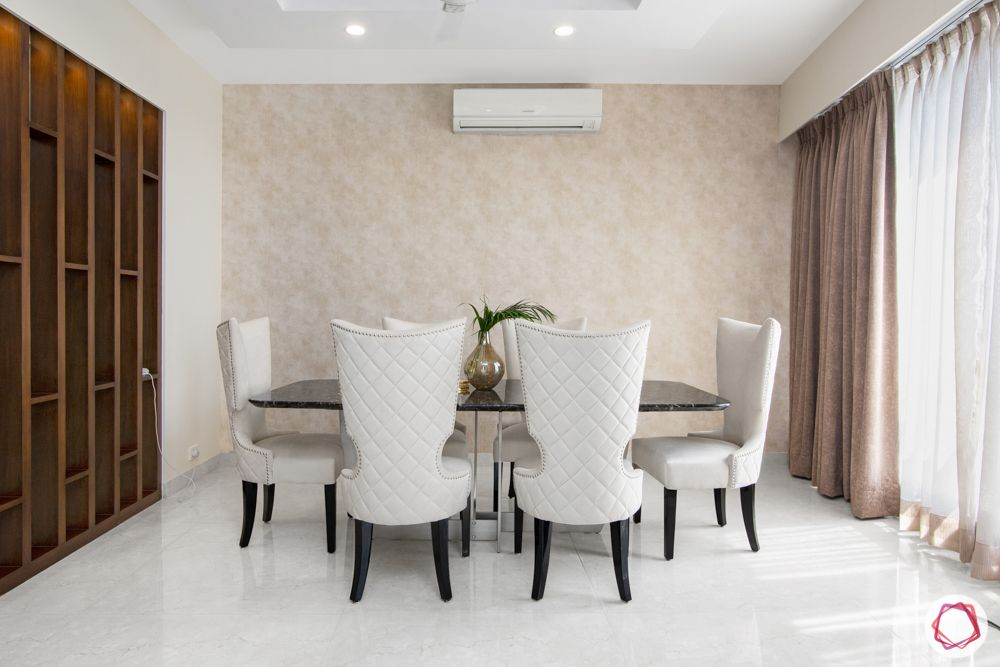 pioneer presidia-white winged chairs-beige wallpaper