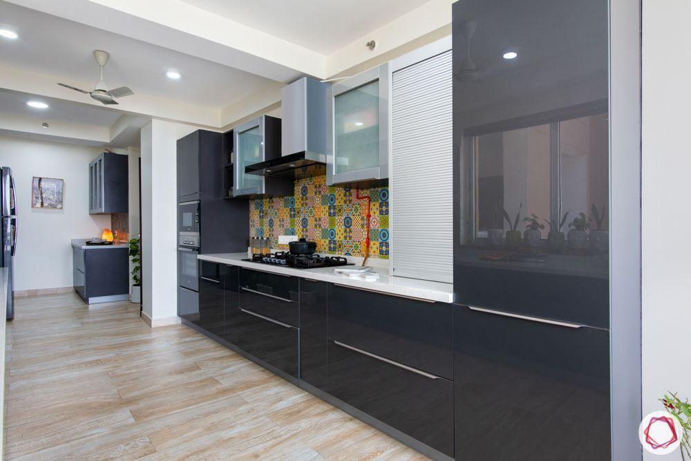 grey cabinet designs