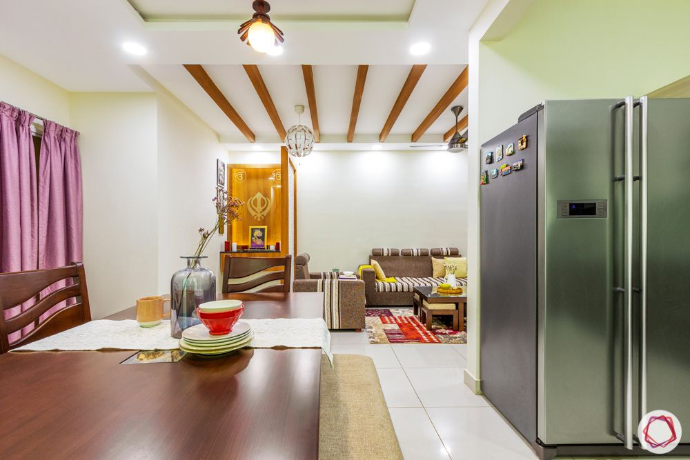 residential-interior-designers-in-bangalore-dining-rafters-fridge